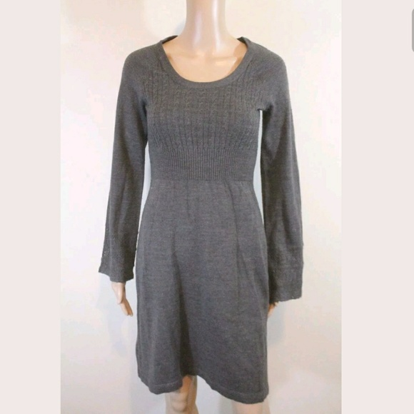954296c2662 London Times Dresses   Skirts - London Times Cable Knit Bell Sleeve Sweater  Dress